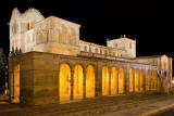 Illuminated Basílica , Avila