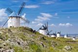 Seven windmills, Consuegra