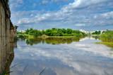 Guadiana River reflection, Mérida