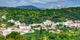 White village and mountains, Juzcar