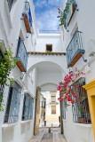 Narrow street and doorway, Cordoba