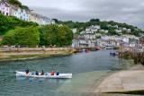 The Scathgwyn rowing team, Looe