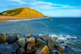 Rocks and cliffs, West Bay