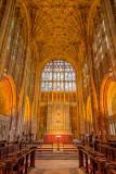 Altar, Sherborne Abbey, Dorset
