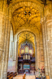 Organ pipes, Sherborne Abbey