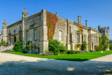 Two sides of Lacock Abbey