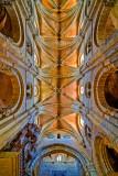 Ceiling of the Basilica de San Vicente, Avila