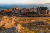 Lighthouse cottages, La Corbiere, Jersey