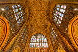 Windows and ceiling, Sherborne Abbey