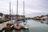 Boats and bridge, Weymouth