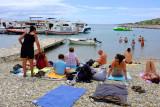 Micro plage aux Kornati