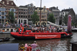 Canal Parade in Amsterdam during Gay Pride, August 6, 2011