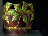 Flowerpot, chestnut leaves (1901)