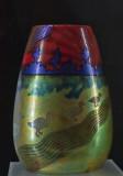 Vase with ducks
