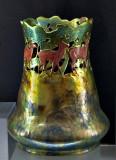 Vase, forest and deer (1905)