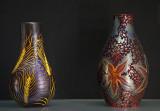 Vase, wheatears; vase, starfish (1899)