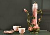 Coffee service, lotus flower (1890-91)