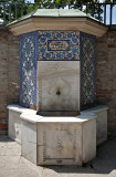 Fountain, tomb of Gül Baba