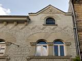 Sculpted facade
