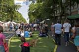 Temporary 'oasis' for festival goer comfort