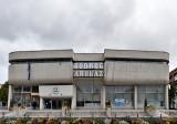 SÁROSPATAK, Shopping center, Imre Makovecz