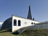 Szent István church, rear