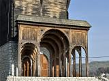 Community center: Transylvanian bell tower detail