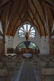 Adventist church, interior