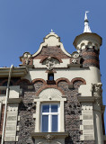 Whimsical building on Matejko Square