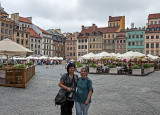 Helen and Jola do Warsaw