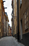 Unusually tranquil street, Gamla Stan