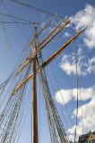 Strandvägen, soaring mast