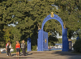 Blå Porten, Djurgården