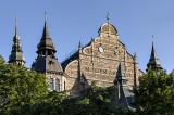 Nordiska museet, Djurgården island