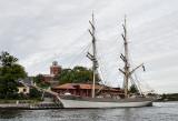 Stockholm by water, castle on Kastellholmen