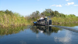 We filled three airboats