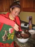 apply vigorous stirring