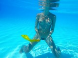 Elean the little mermaid.... - Aquatic ballet - (Sicily - 10-09-2011)