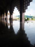 Reflecting Marble Floor