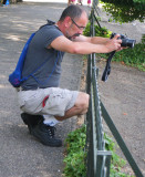 Concentrating Photographer
