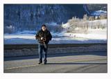 Mike in winter wonderland