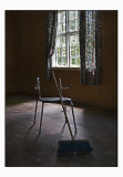 Broom and chair.......