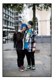 48. Colourful couple............