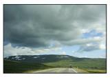Crossing Saltfjellet,near the arctic circle.....