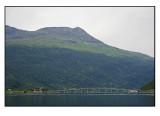 The bridge and the mountain Årsteinhornet......