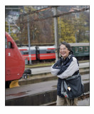 82. A train enthusiast from Japan.......
