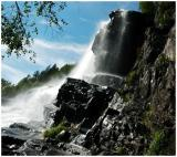 Waterfall in Modalen Norway 2