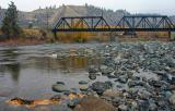 Railroad Bridge over Wenatchee River