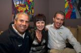 Russell Hill, Mayor Phyliis Miller  & Andrew Garrat