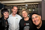 Mayor Phyllis Miller, Andrew Garratt, Merrill Findlay & Festival Director Stepho Nantsou
